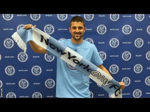 Officially | David Villa signs for New York City
