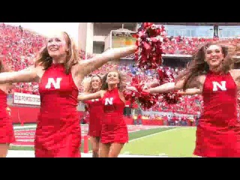 2008 Nebraska Cheerleaders & Scarlets