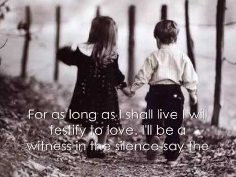 I Will Testify To Love- Wynonna Judd (Lyrical Video) ♥