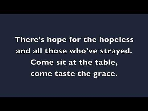Come As You Are - David Crowder (LYRICS)