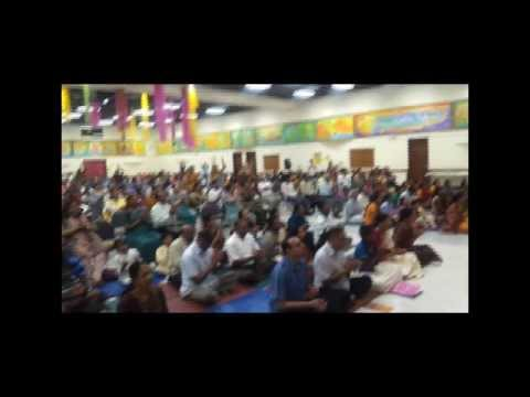 Dallas 2012: Mass Prayer with Mahamantra Kirtan