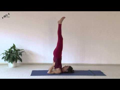 Advanced Yoga Sequence - Shoulder Stand, Bridge, Wheel
