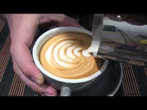 Tulip Latte Art