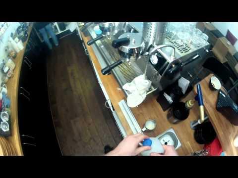 Making a Flat White - by Six Eight Kafe