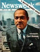 Mayor of Cleveland Carl Stokes ~  Newsweek Magazine  ~