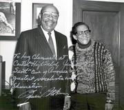 Congressman Louis Stokes & Jimmy Scott   ~