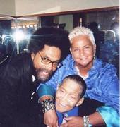 Dr. Cornell West with Jimmy & Jeanie Scott  ~ 2008  ~