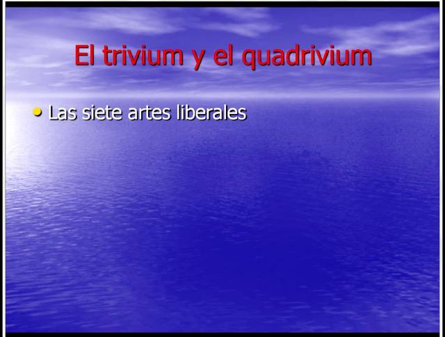Las bases del Quadrivium y las Técnicas Dracónicas