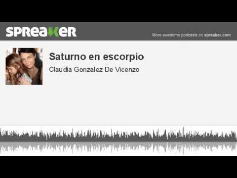 Saturno en escorpio (made with Spreaker)