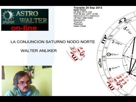 LA CONJUNCION SATURNO NODO NORTE ASTROLOGO WALTER ANLIKER