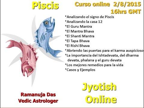 CURSO SIGNO DE PISCIS 3 Astrología Védica (Ramanuja Das)