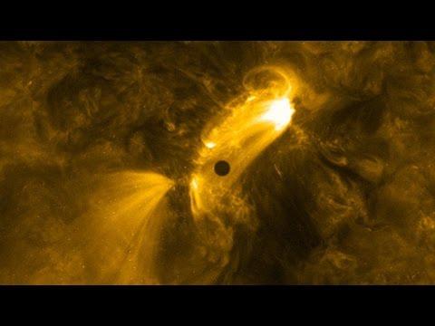 NASA's SDO Captures Mercury Transit Time-lapse