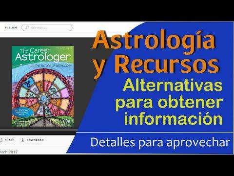 ASTROLOGÍA y RECURSOS virtuales