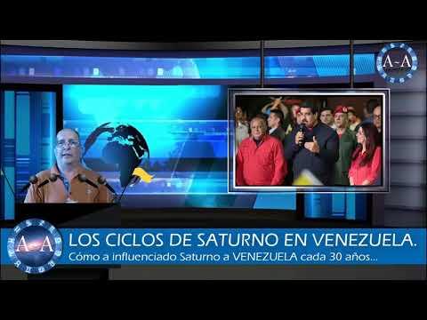 CÓMO AFECTARÁ SATURNO A VENEZUELA EL 2018...?