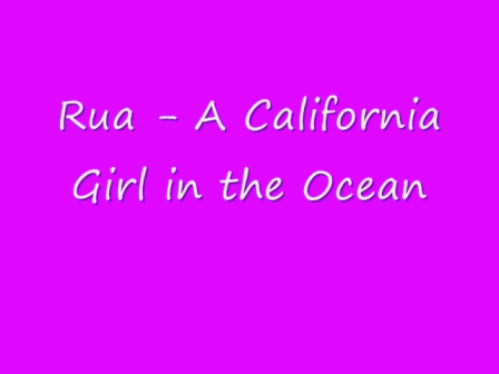 Rua - In the Ocean