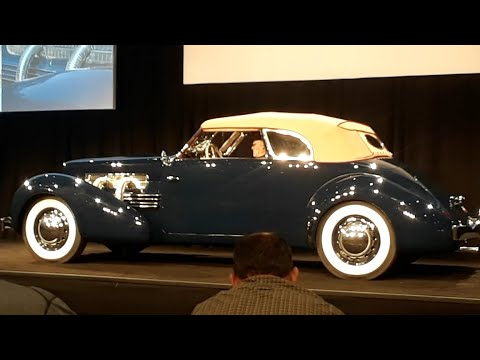 1937 Cord 812 Superchared Phaeton At the 2017 RM Sotheby's Hershey