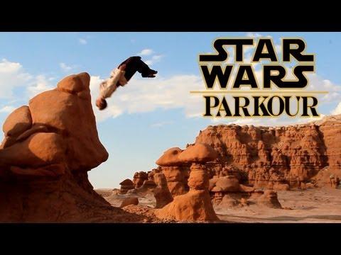 Star Wars Parkour - Jedi Free Running
