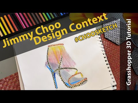 Computational tutorial shoe design with grasshopper3d
