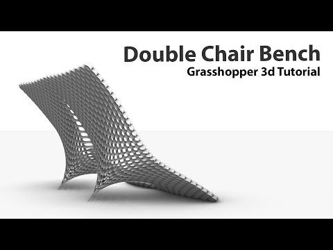 Computational Tutorial Furniture in Grasshopper3d