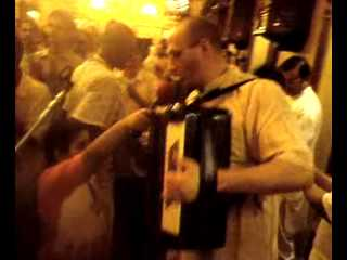 New Vraja Dham Devotees of hungary begin singing and dancing in Iskcon chowpatty on 29 march 2009