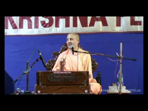 Republic Day and Our Spiritual Constitution Lecture by Radhanath Maharaj at ISKCON Juhu.
