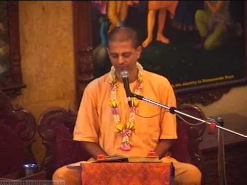 SB 10.05.30.32 - Willingly accepting Destiny as the Ultimate Lecture by Madan Gopal Prabhu at ISKCON Chowpatty