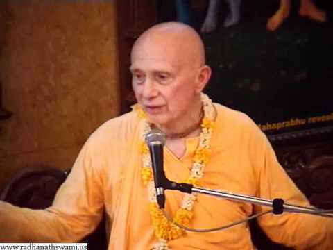 Lecture on Experiencing Ecstasy in Transcendental Anxiety by Candramauli Swami in ISKCON Chowpatty