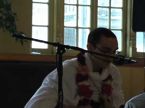 Lecture on Srimad Bhagavatam in ISKCON Chicago on 15th April, 2012