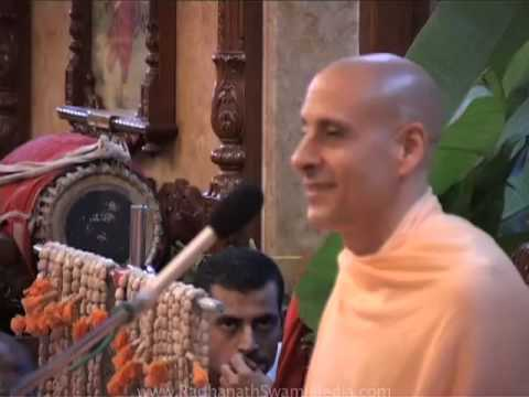 Lecture on Brahmacari Initiation by Radhanath Maharaj