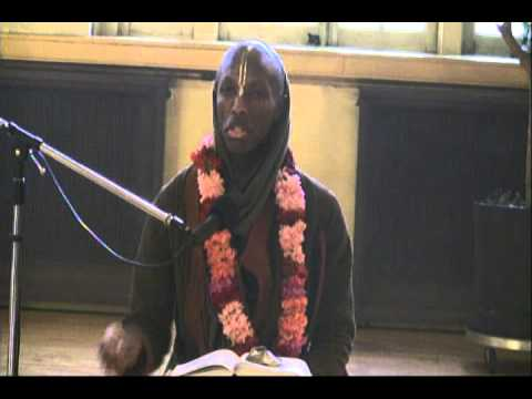 Lecture on Srimad Bhagavatam in ISKCON Chicago on 29th Oct, 2012