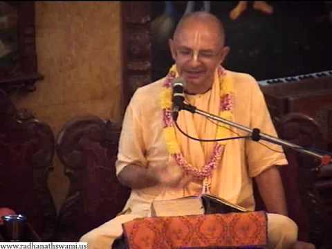 Lecture on Modern Measuring Culture and Vedic Accepting Culture by Bhakti Vijnana Goswami at ISKCON Chowpatty