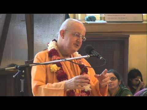 Sunday Feast Lecture by Romapada Swami in ISKCON Chicago
