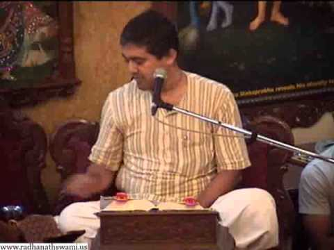 Sunday Feast Lecture on What is a Real Opulence by Sridama Sakha Prabhu at ISKCON Chowpatty