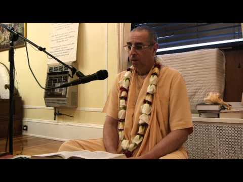 Sunday Feast Lecture by HH Niranjana Swami at ISKCON Hartford Temple on 19th May, 2013