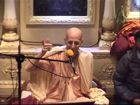 Sunday Feast Lecture by HH Jai Advaita Swami at ISKCON London on 12th May, 2013