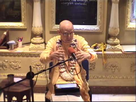 Lecture on Srimad Bhagavatam Canto 10, Chapter 47, Text 18 by Kesava Bharati Das Goswami at ISKCON London