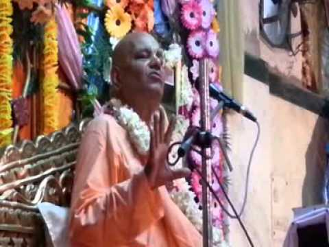 Hindi Katha on Narsimha Lila by Radha Govinda Swami at Haridwar - Part 02
