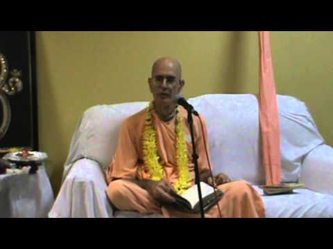 Lecture on HH Bhakti Prabhupada Vrata Damodar Swami on 06th June, 2013