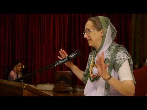 Sunday Lecture by HG Urmila Devi Dasi at ISKCON Boston on 09th June, 2013