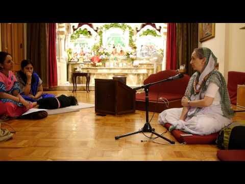 Lecture on Transmitting the Culture of Krishna Consciousness to the Next Generation by Urmila Mataji at ISKCON Boston