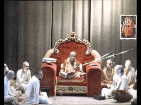 A Glimpse of Srila Prabhupada in the UK