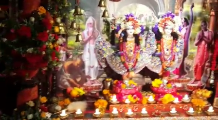 7 appearance day Celebration  of SRi Sri Nitai Mayapurchandra 2015