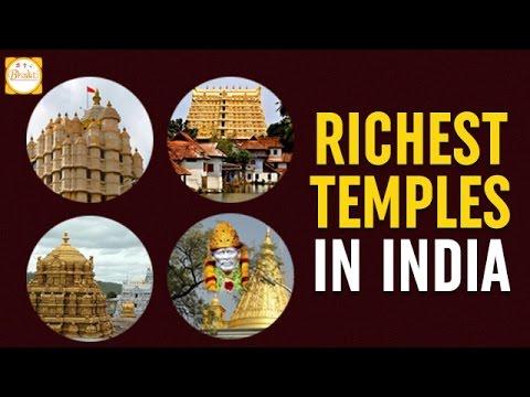 Top 10 Richest Temples in India | Amazing Hindu Temples | Bhakti