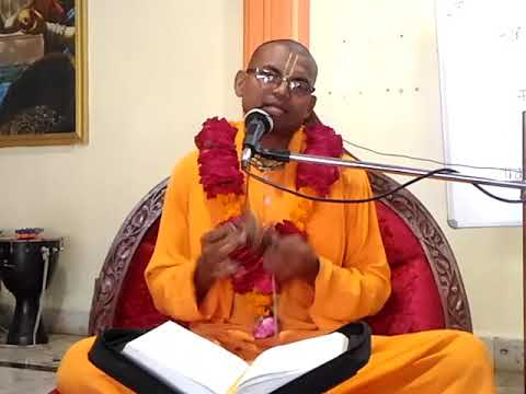 Bhagvatam Class by HG Ajagovind Prabhuji at ISKCON Amravati Dt.27/09/17 Part-1