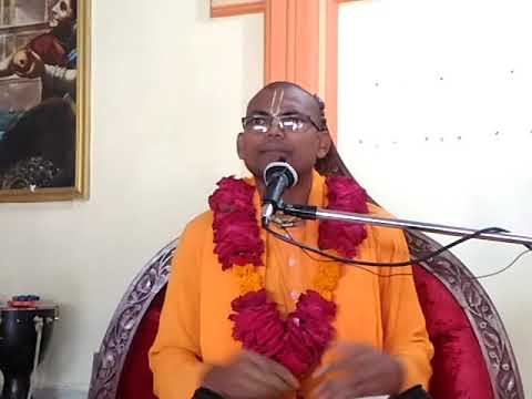 Bhagvatam Class by HG Ajagovind Prabhuji at ISKCON Amravati Dt.27/09/17 Part-2