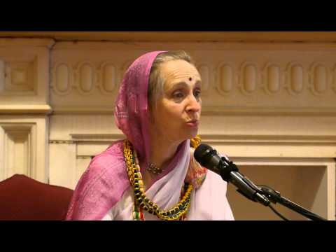 """Fellowship With Devotees"" - lecture by Her Grace Urmila Devi Dasi - June 5, 2013"