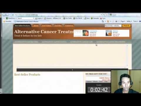 Sitio Web de Cancer generado en 35 Segundos. Trabaja como un GURU y Gana Dinero.