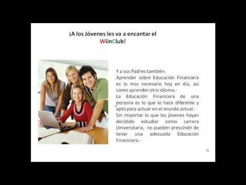 Educación Financiera para Jóvenes. WiinClub