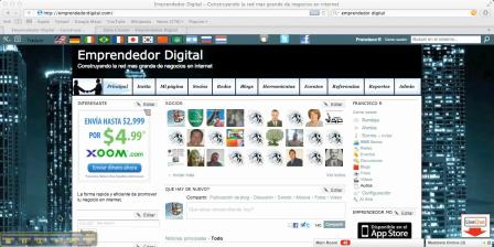 Como agregar paginas a tu Red de Emprendedor Digital