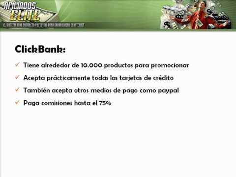 Que es clickbank - Ganar Dinero con Clickbank - Ganar Dinero por Internet
